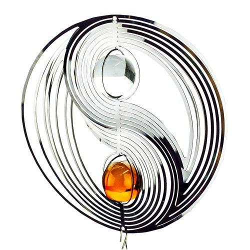 3D Windspiel Yin Yang mit Kugelspirale - 2