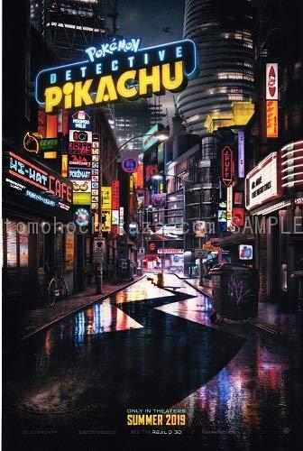 映画ポスター ポケモン 名探偵ピカチュウ DETECTIVE PIKACHU 27×40inc (68.9×101.6cm) US版 両面印刷 ds1 [並行輸入品]
