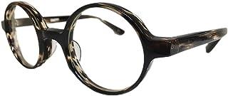 EFFECTOR(エフェクター) メガネ/サングラス オリジナルモデル ラウンドタイプ 丸メガネ SNAPPY CO 46サイズ (茶系)