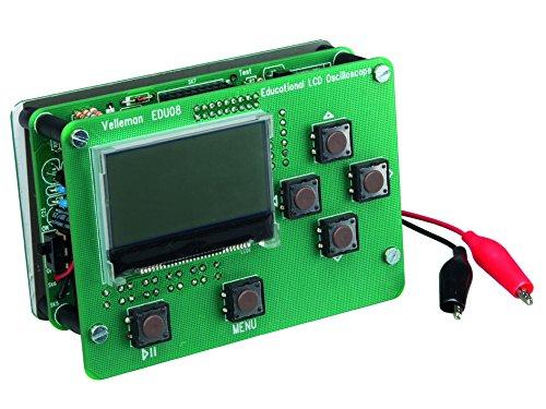 Velleman EDU08 Oszilloskop-Lernpaket - LCD-Display, Grün