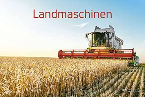 Landmaschinen 2022 - Bild-Kalender 49,5x34 cm - Technik-Kalender - Fahrzeuge - Wand-Kalender - Alpha Edition