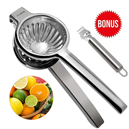 Jumbo Lemon Squeezer - Durable Stainless Steel Maunal Juicer...