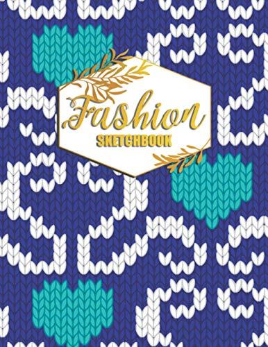 Fashion Sketchbook: Fashion Design Portfolio for Artists and Designers