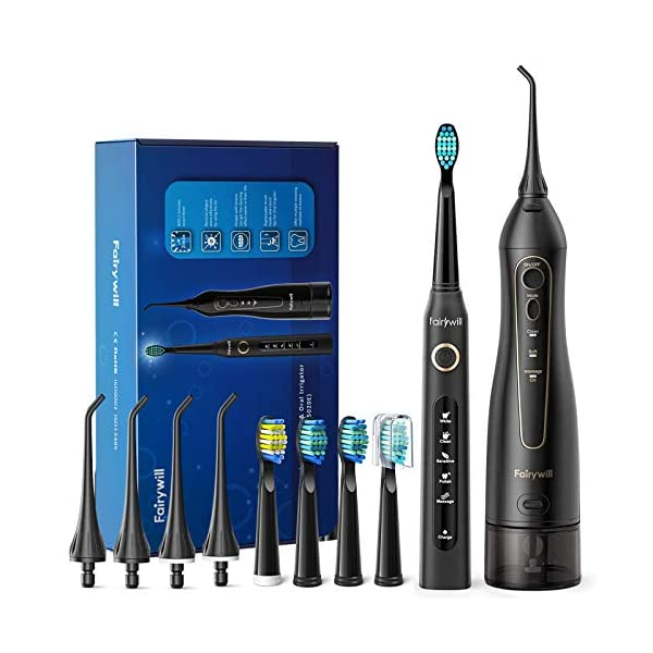 Water Flosser and Toothbrush Combo Fairywill