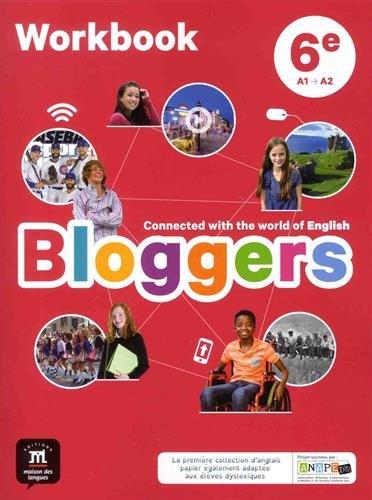 avis livre photo en ligne professionnel Blogger 6th (A1-A2) – Classeur anglais