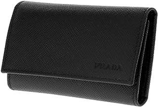 プラダ PRADA キーケース ユニセックス 2PG222SAFF-NER ブラック[sw]