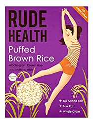 100% RICE. THAT'S IT. SIMPLE. LIGHT. CRISPY. PUFFED BROWN RICE. A lighter way to start your day. GLUTEN FREE. WHOLE GRAIN. Suitable for vegans. NATURAL INGREDIENTS. Made with natural ingredients only; nothing artificial, nothing refined. Vegan & Vege...