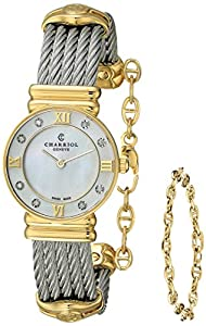 Charriol Women's 028YD1540552 St Tropez Analog Display Swiss Quartz Silver Watch image