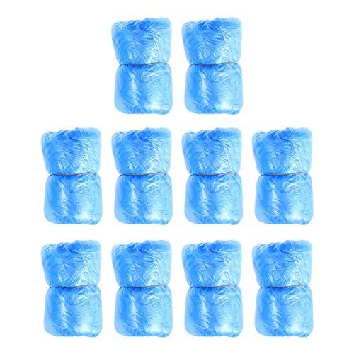 Minkissy 100 Piezas de Calzado Desechable Cubre Alfombras de Limpieza Cubre Cubrebotas...