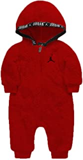 Jordan Baby Boys' Sherpa Hooded Coverall