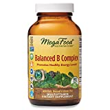 MegaFood, Balanced B Complex, Promotes Healthy Energy Levels, Multivitamin Dietary Supplement, Gluten Free, Vegan, 90 Tablets (90 Servings)