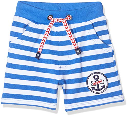 Salt & Pepper Baby-Jungen 03216105 Shorts, Blau (Strong Blue 483), (Herstellergröße: 74)