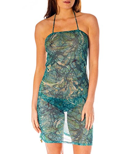 Kiniki Santorini Tan Through Sonnendurchlässiges Strandkleid Damen Bademode Accessoire