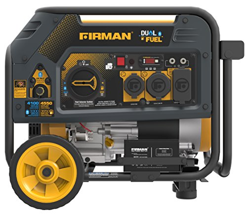 Firman H03651 4550/3650 Watt Electric Start Gas or Propane...