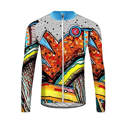 Uglyfrog Slj47 - Camiseta de ciclismo para hombre, manga larga, primavera, otoño, Hombre, color couleur 20, tamaño Taille XX-Large