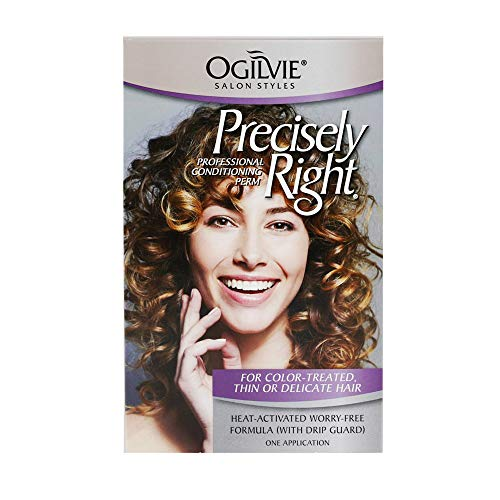 Ogilvie Salon Styles Professional Conditioning Perm for Color Treated, Thin or Delicate Hair