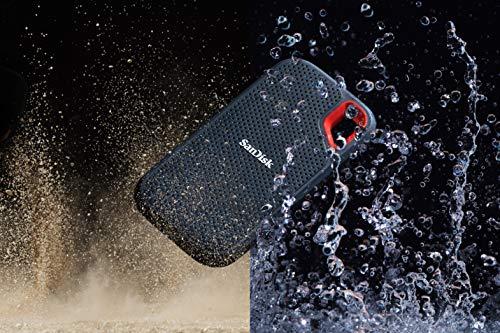 SanDisk Extreme SSD portátil 500GB - hasta 550MB/s Velocidad de Lectura