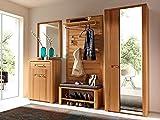 Garderobe Komplettset Flurgarderobe Dielengarderobe Flur Möbel 'Nature Plus I'