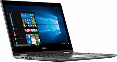 "2018 Dell 2-in-1 13.3"" FHD TouchScreen High Performance Business Laptop, AMD Ryzen 7 2700U 2.2GHz, AMD Radeon RX Vega 10, 12GB DDR4, 256GB SSD, Webcam, Backlit Keyboard, HDMI, Windows 10, Era Gray"