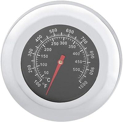 Termómetro de horno de acero inoxidable, termómetro de alimentos para barbacoa para hornear, herramientas de barbacoa al aire libre para el hogar