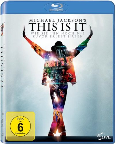 Michael Jackson's This is It [Blu-Ray] [Import]