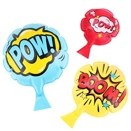 Whoopie Cushion[3 Pack] Fun Prank Toys,4' 7' 8' Inches Whoopee Cushion,Novelty Party Toys Favors for Kids,Boys,Girls and Adults