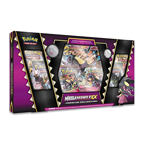 Pokemon TCG: Mega Mawile EX Premium Collection Box + 6 Booster Pack + A Foil Promo Card