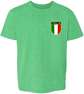 Italy Soccer Retro National Team Youth Kids Girl Boy T-Shirt
