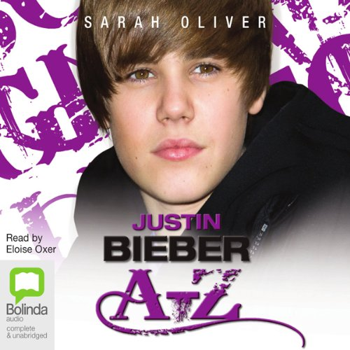 Justin Bieber A-Z audiobook cover art