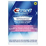 Crest 3D White Whitestrips Gentle Routine Kit, 28 Teeth Whitening Strips, 14 Treatments