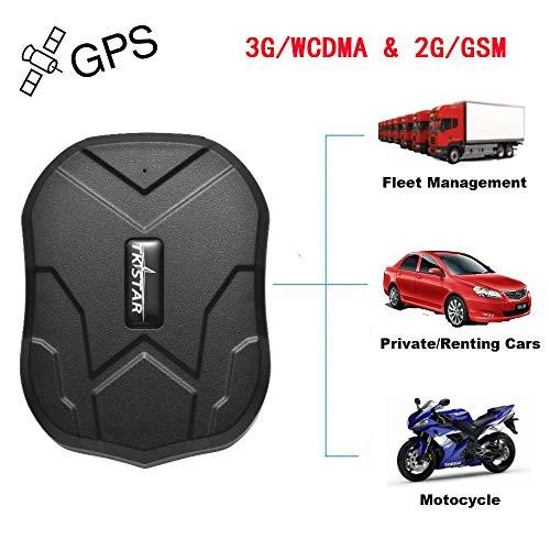 Winnes GPS imán fuerte del localizador, GSM / WCDMA / GPRS Vehículos 3G Sistema de monitoreo del localizador en tiempo real, Localizador GPS impermeable (3G TK905)