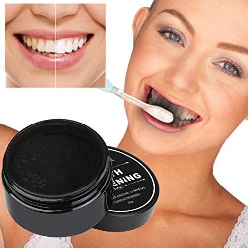 Tefamore Pâte à blanchir les dents Crème dentaire au bambou activée à base de bio organique naturel