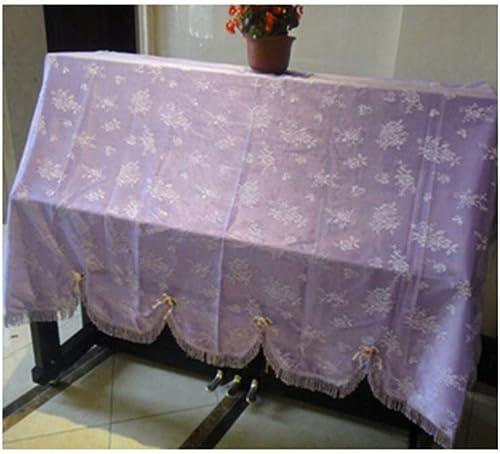 comprar barato SISHUINIANHUA 1 1 1 UNID Nueva Cubierta de Piano Pastoral Romántica Cubierta de Piano de Encaje Completo a Prueba de Polvo,verde  tienda de venta en línea
