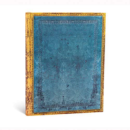 Paperblanks Faux Leder Notizbuch Ultra Liniert,Rivierablau