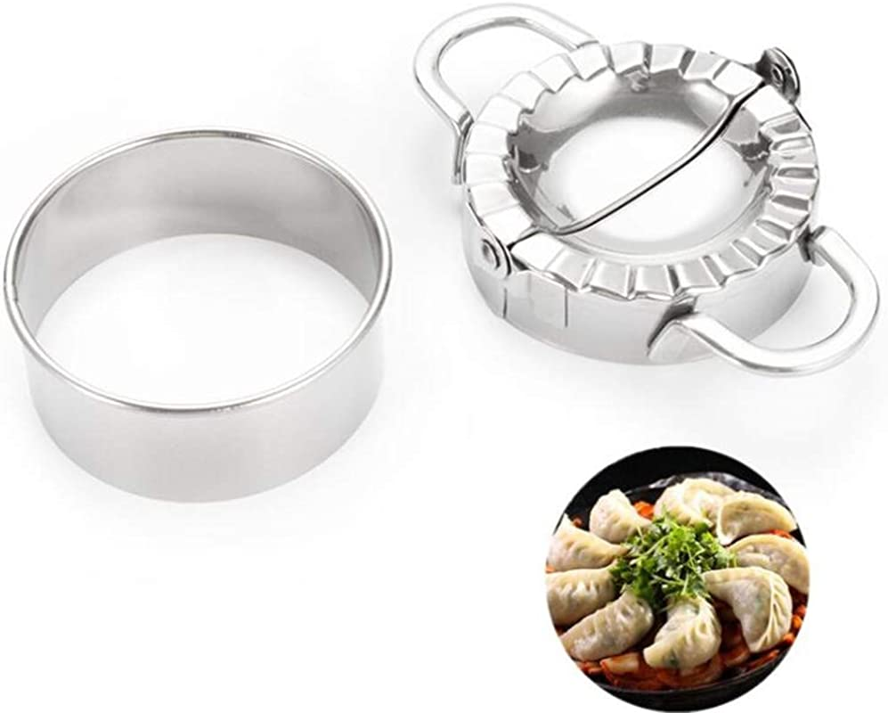 Dumpling Maker New Sainless Steel Dumpling Maker Dough Cutter With 1 Dumpling Cut By GOCTOS