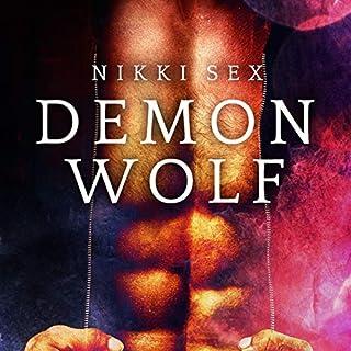 Demon Wolf audiobook cover art