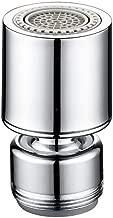 Linyuo Filtro Grifo de Accesorios Inicio Instalaciones Filtro de aireador de Grifo Lat/ón Cromado Banda de Rodadura Macho Antisalpicaduras Ahorro de Agua Boquilla Lavadora de Filtro para Cocina Ba/ño