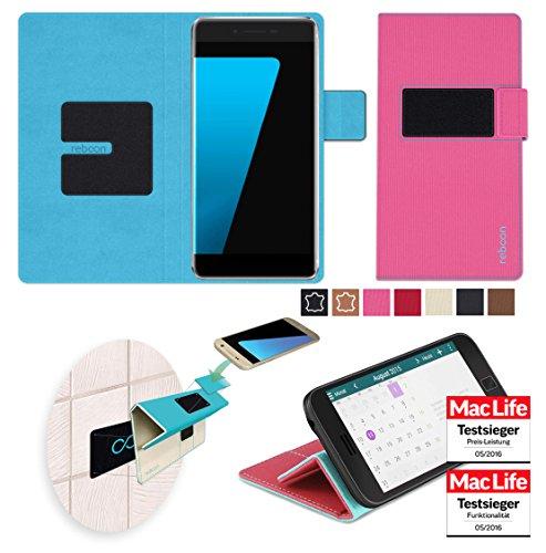 Hülle für Ulefone Future Tasche Cover Hülle Bumper   Pink   Testsieger