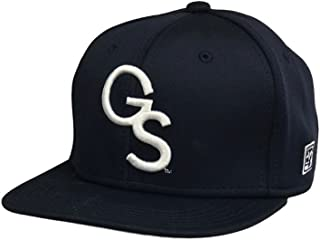 Georgia Southern The Game Navy Fitted Baseball Cap with White GS Logo