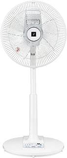シャープ プラズマクラスター扇風機 空気浄化・消臭 風量3段階(リズム風あり) リモコン付き ホワイト PJ-G3AS-W
