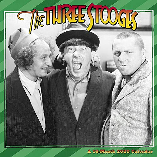 The Three Stooges 2019 Calendar