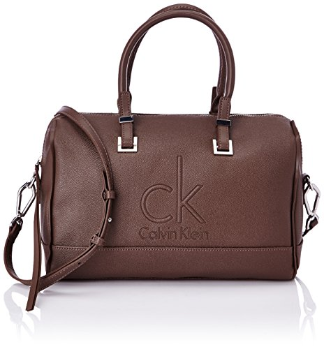 Calvin Klein Mel Duffle 2, Damen Bowlingtaschen, Braun (Marron (255 Taupe)), onesize