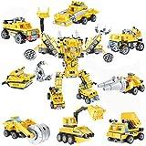 Robot STEM Jouet 8 en 1 Kit de Construction Briques Bâtiment Bricolage Construction Minifigures Jeu de Jouets...