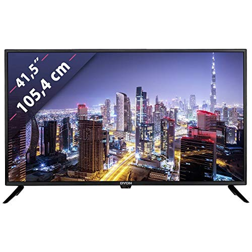 DYON LIVE 42 Pro X LED-Fernseher, schwarz, FullHD, Triple Tuner, USB Mediaplayer
