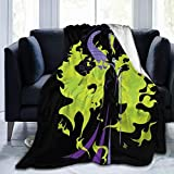 TECHSOURCE Male-ficent Mist-RESS of Ev-il Blanket Ultra-Soft Micro Fleece Blanket Throw Super Soft Fuzzy Lightweight Blanket for Bed Couch Living Room,80'' x60