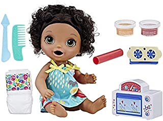 Baby Alive Snackin' Treats Baby (Black Curly Hair) (B076QJ959L)   Amazon price tracker / tracking, Amazon price history charts, Amazon price watches, Amazon price drop alerts