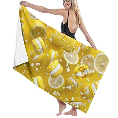 If Not Zitronenkuchen Creme Strandtuch Bad Wrap Dusche Handtuch Stranddecke für Sport Schwimmbad Badezimmer