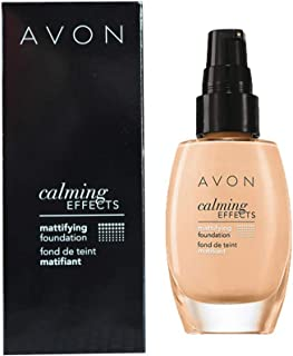 Avon Calming Effects Mattifying Foundation Found De Teint Matifiant - Nude