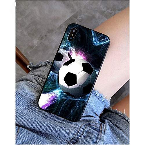 XMCJ Carcasa para iPhone X XS MAX 6 6S 7 7plus 8 8Plus 5 5S XR (color: A12, material: para iPhone 11 pro)