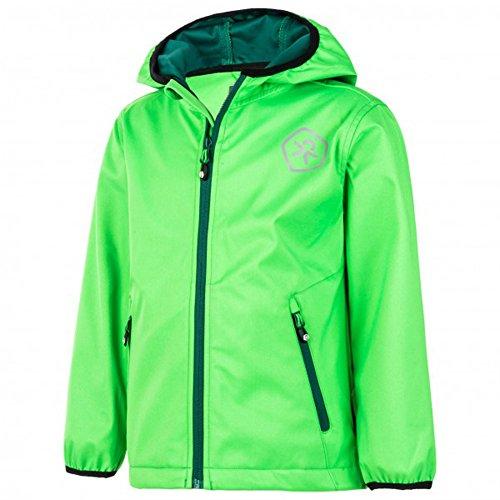 Color Kids. Barkin, Softshell-Jacket Junior Air-Flo 8000, Toucan Green, 104